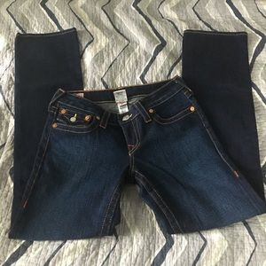 "True Religion ""Billy"" back flap pocket jeans Sz 28"